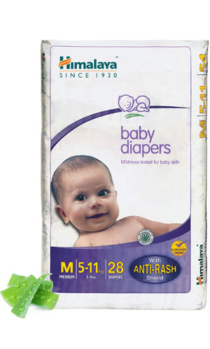 Himalaya's Baby Diapers
